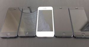 iPhone 5 unlocked excellent condition 16 GB wholesale five pieces or 32 GB for Sale in North Miami Beach, FL