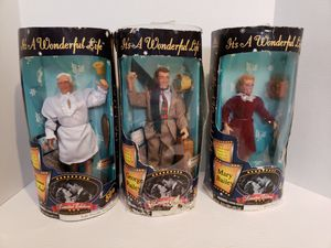 It's a Wonderful Life Vintage Set of Toy Figures for Sale in Houston, TX