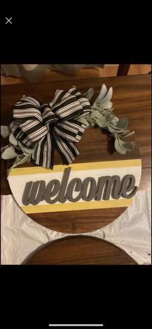 Home Decor/ Welcome Sign for Sale in Bakersfield, CA