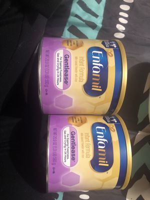 Enfamil Gentlease 20.9oz cans for Sale in Redwood City, CA