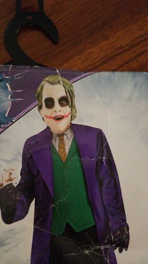 Joker Halloween costume kids Medium 8-10 for Sale in Columbia, MD