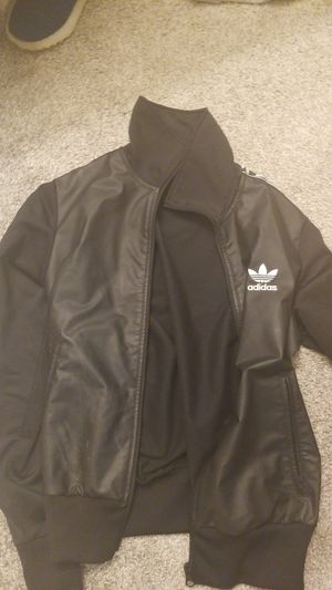 Leather Adidas Jacket for Sale in Seattle, WA