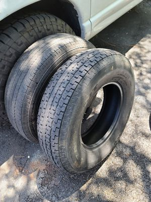 Trailer tires st 235 85 r16. 30 each or 50 both. Please read below for Sale in Miami, FL