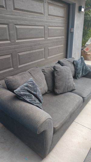 Lazyboy sofa sleeper and ottoman for Sale in Escondido, CA
