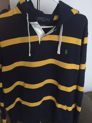 RALPH LAUREN STRIPE SWEATSHIRT HOODIE XL for Sale in Chicago, IL
