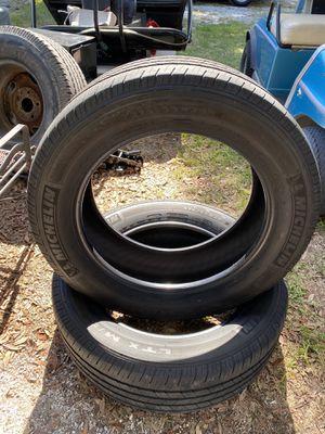 2) 275/55/20 Michelin LTX M/S Tires DOT 38/2018 for Sale in Palm Harbor, FL