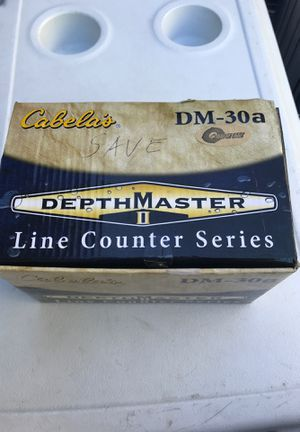 Cabellas DepthMaster line counter fishing reel for Sale in Lake Oswego, OR