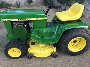 1972 John Deere 112 tractor with original Kohler engine for Sale in Simi Valley, CA