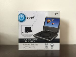 Portable DVD Player Kit (Brand New) for Sale in Revere, MA