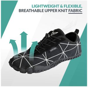 Zero Barefoot Trail Running Shoes - Minimalist Runners with Wide Toe Box, Zero Drop Sole and Odor-Free Insole with Real Silver for Men and Women for Sale in Miami, FL