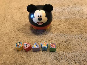 Disney Mickey Mouse Shape Sorter With Sound for Sale in Chula Vista, CA