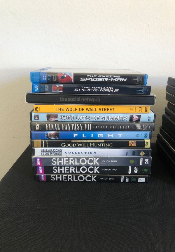 DVD Movies (light use)