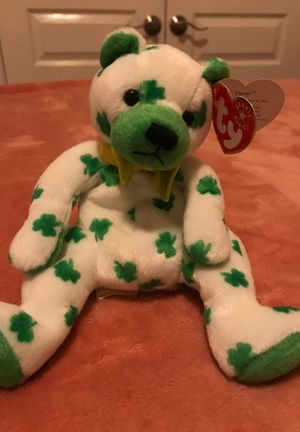 Rare St. Patrick's Day Beanie Baby for Sale in Land O' Lakes, FL