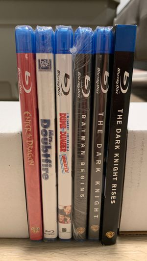 Assorted blu ray movies for Sale in Renton, WA
