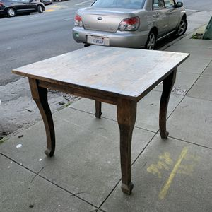 Free Dining/gaming Wooden Table for Sale in San Francisco, CA