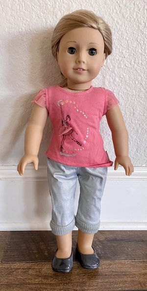 Isabelle American Girl Doll, cat & outfits for Sale in Frisco, TX