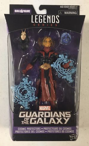 MISB Marvel Legends Gotg Adam Warlock Action Figure from BAF Mantis Wave Superheroes Toys for Sale in River Grove, IL