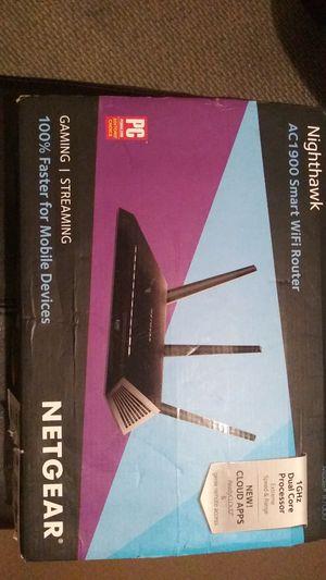 Nighthawk Netgear WiFi router for Sale in Brandon, FL