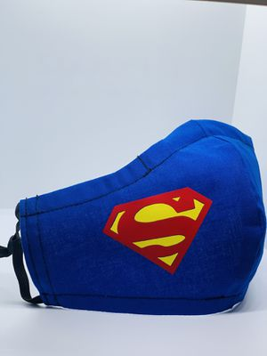 Homemade Superman Face Mask $12 for Sale in Azalea Park, FL