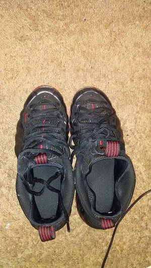 Mens size 8.5 black and red foamposites for Sale in Sacramento, CA