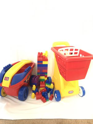 Toys Bundle Mega Blocks Little Tikes *Free for someone in need (Free delivery within 5 miles) for Sale in Falls Church, VA
