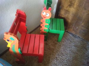 2 wooden chairs kids for Sale in Tucson, AZ