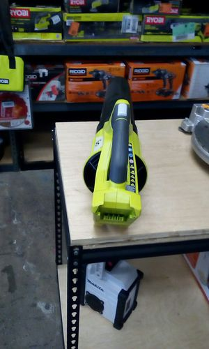 RYOBI CORDLESS 40 V JET FAN BLOWER TOOL ONLY for Sale in Moreno Valley, CA