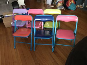 Kids folding chairs for Sale in Chicago, IL