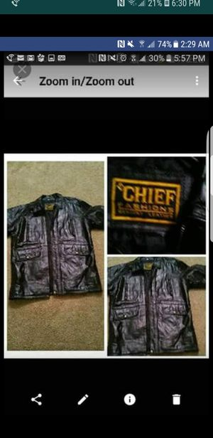 Mens large size leather jacket for Sale in Baltimore, MD