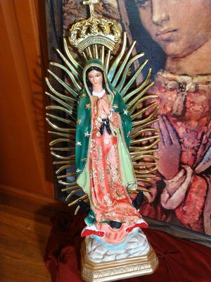2ft Virgen de Guadalupe for Sale in Santa Fe Springs, CA