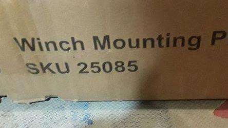Winch mounting Plate for Sale in Auburn,  WA