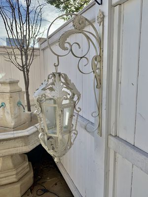 Provincial French hanging candle lanterns for Sale in Alexandria, VA
