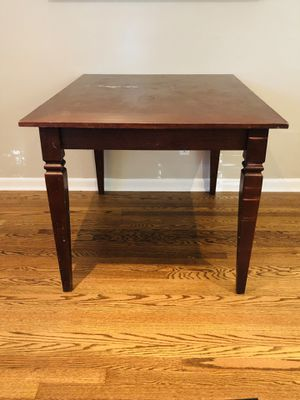 Wood dining table for Sale in Overland Park, KS