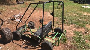 Green and black gokart just need motor for Sale in Autaugaville, AL