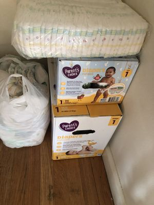Size one diapers trade for Sale in Vancouver, WA