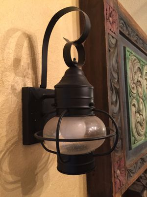Pair of Lamps Wall Sconces for Sale in Ontario, CA