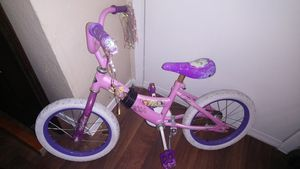 Disney princess little girl's bike for Sale in Austin, TX