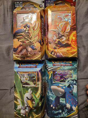 4 Pokemon theme decks for Sale in St. Louis, MO