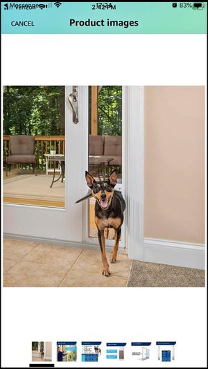 New sliding screen doggy/cat door for Sale in Lakeside, CA