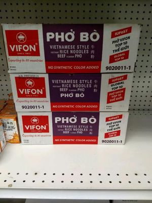 Vifon Instant Pho Noodle Soup - Beef Flavour - Pack of 24 for Sale in Monroe, WA