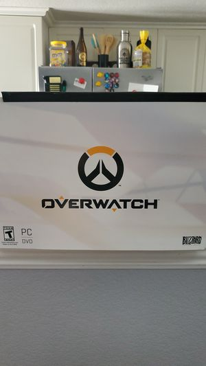 Overwatch Collectors Edition For PC for Sale in Escondido, CA