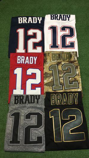 Patriots Brady Jerseys Many Sizes for Sale in Framingham, MA