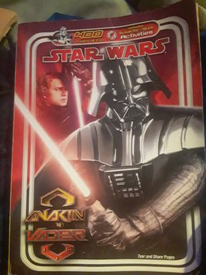 2010 300 page Star Wars coloring book Anakin to Vader for Sale in Cleveland, OH