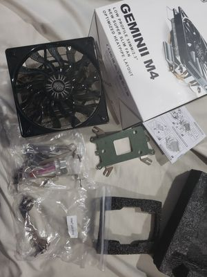 Cooler master Gemini M4 CPU Cooling Fan for Sale in Stockton, CA