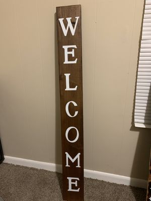 Welcoming sign for Sale in Evansville, IN