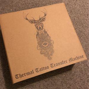 Thermal Tattoo Printer with Paper for Sale in La Mirada, CA