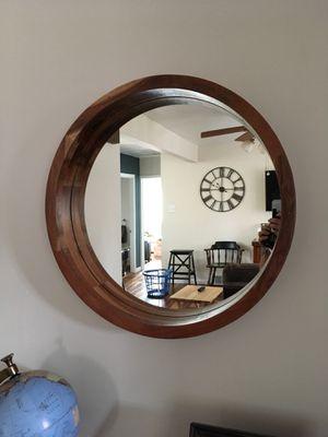 Round decorative wall mirror for Sale in Ambridge, PA