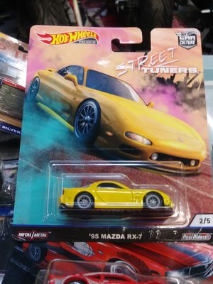 Hot wheels Mazda RX-7 Street tuners series for Sale in Irwindale, CA