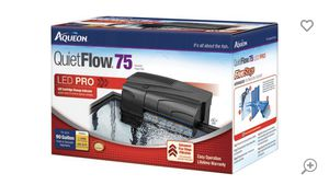 Fish tank filter up to 75 gallons for Sale in Miramar, FL