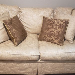 Sofa, Love Seat, And Pillows for Sale in Brandon, FL